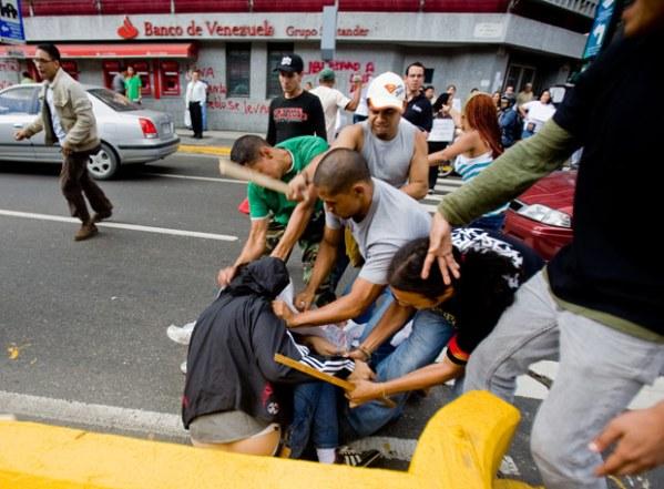 Venezuela ataque periodistas
