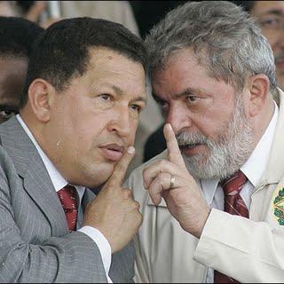 Lula y Chávez