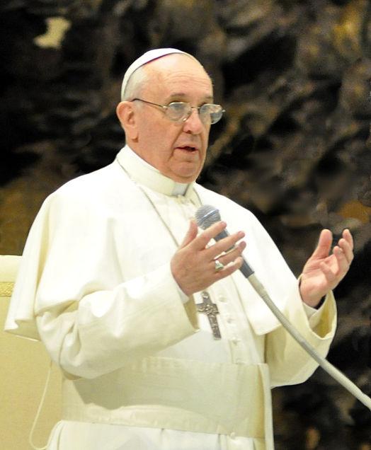 Papa Francisco en conferencia de prensa  (Tenan)